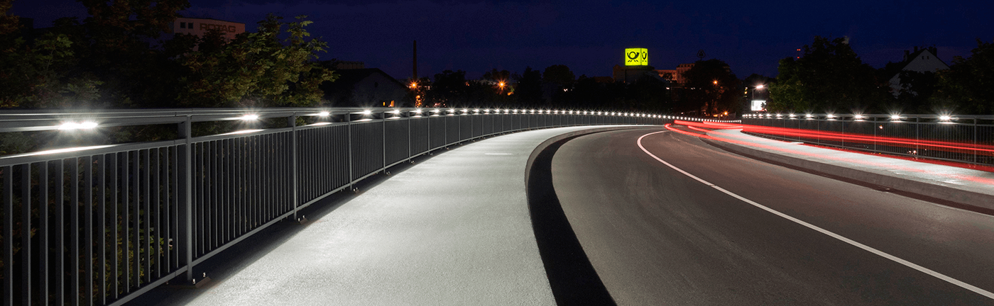 Gruenwinkler Bridge Karlsruhe Germany