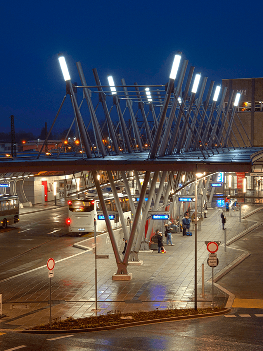 Bus Station Wetzlar Germany